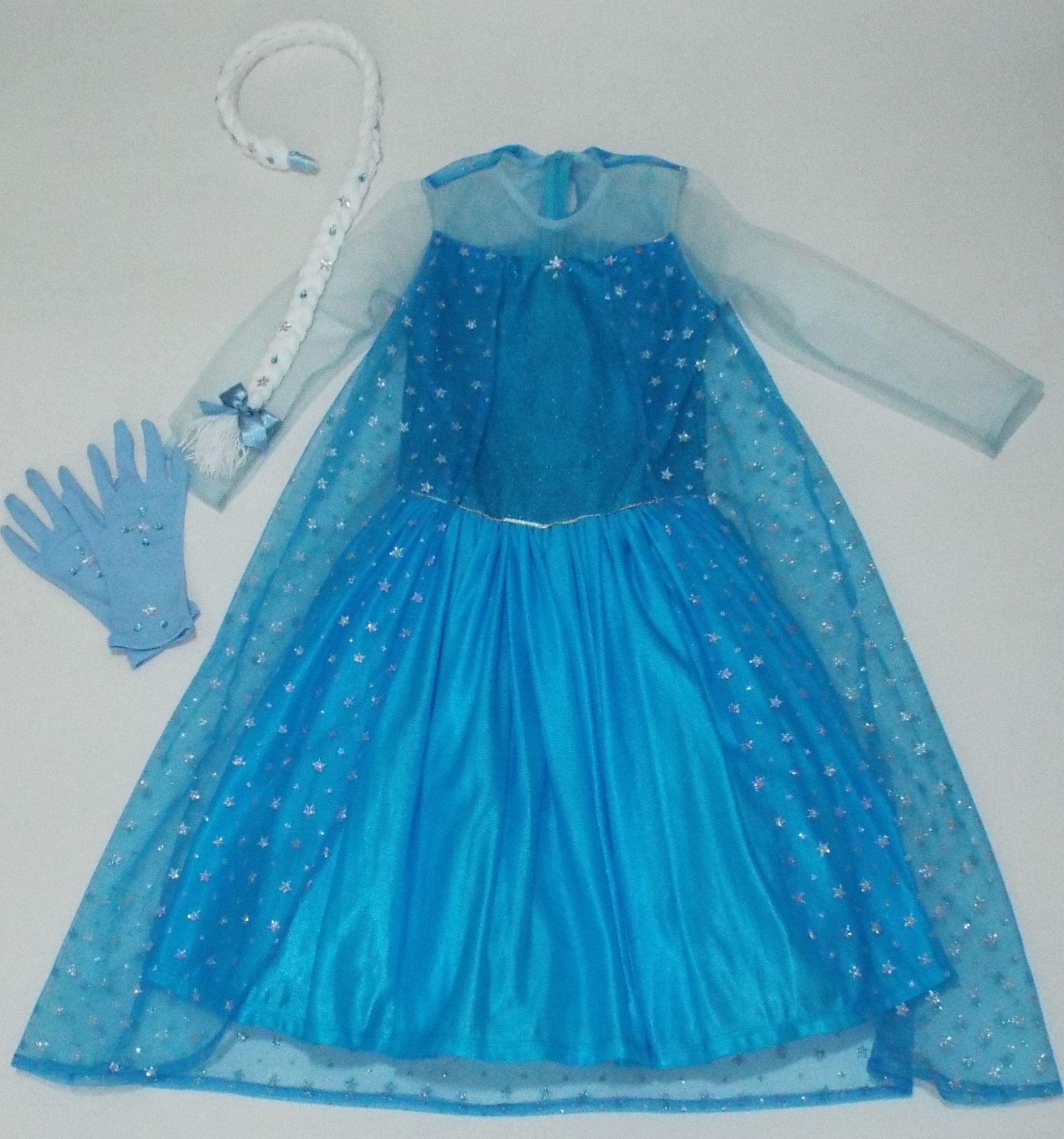Elsa Frozen Elsa Frozen Vestido Princesa Elsa Frozen
