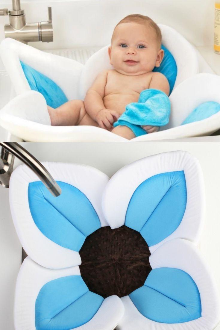 Blooming Bath Lotus Perfect For Deep Sinks Let Your Newborn Enjoy Bath Time This Flower Also Regulates Baby Bath Tub Baby Bath Tub Gift Basket Best Baby Tub
