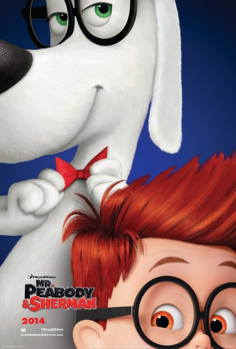 Mr Peabody And Sherman Such An Adorable Movie Made Me Smile All The Way Through Stephen Colbert Gang De Requins Dreamworks