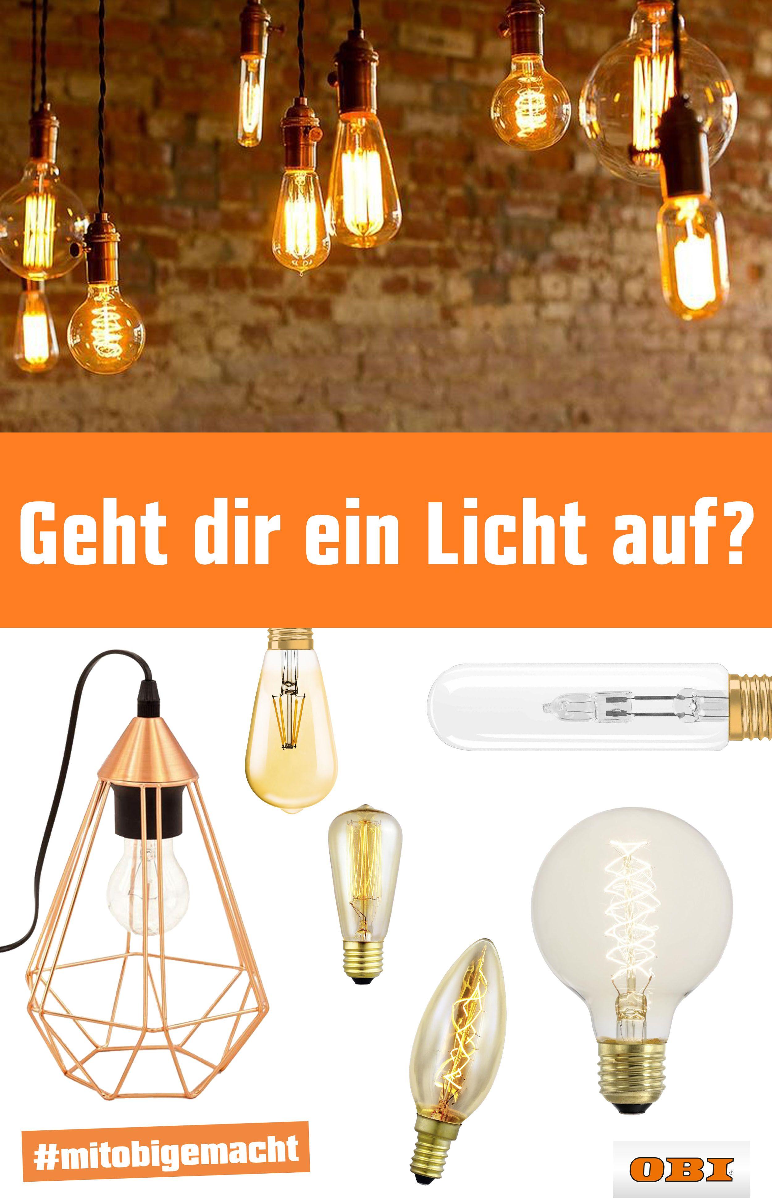 Wer Sagt Das Lampen Einen Schirm Brauchen! Einfach Glühbirnen Nehmen Und  Von Der Decke Baumeln