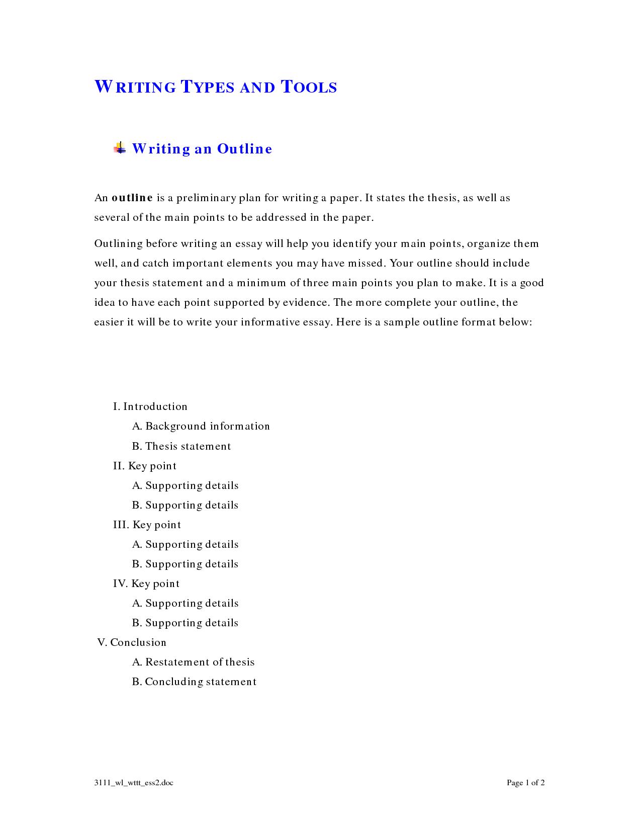 Informative Essay Outline 474096 Png 1275 1650 Informational Writing Essay Outline Informative Essay
