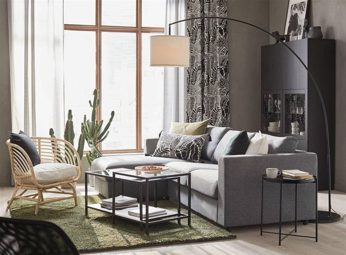 10 Dreamy living room ideas from IKEA 2021 catalogue   Dreamy living room, Floor lamp base ...