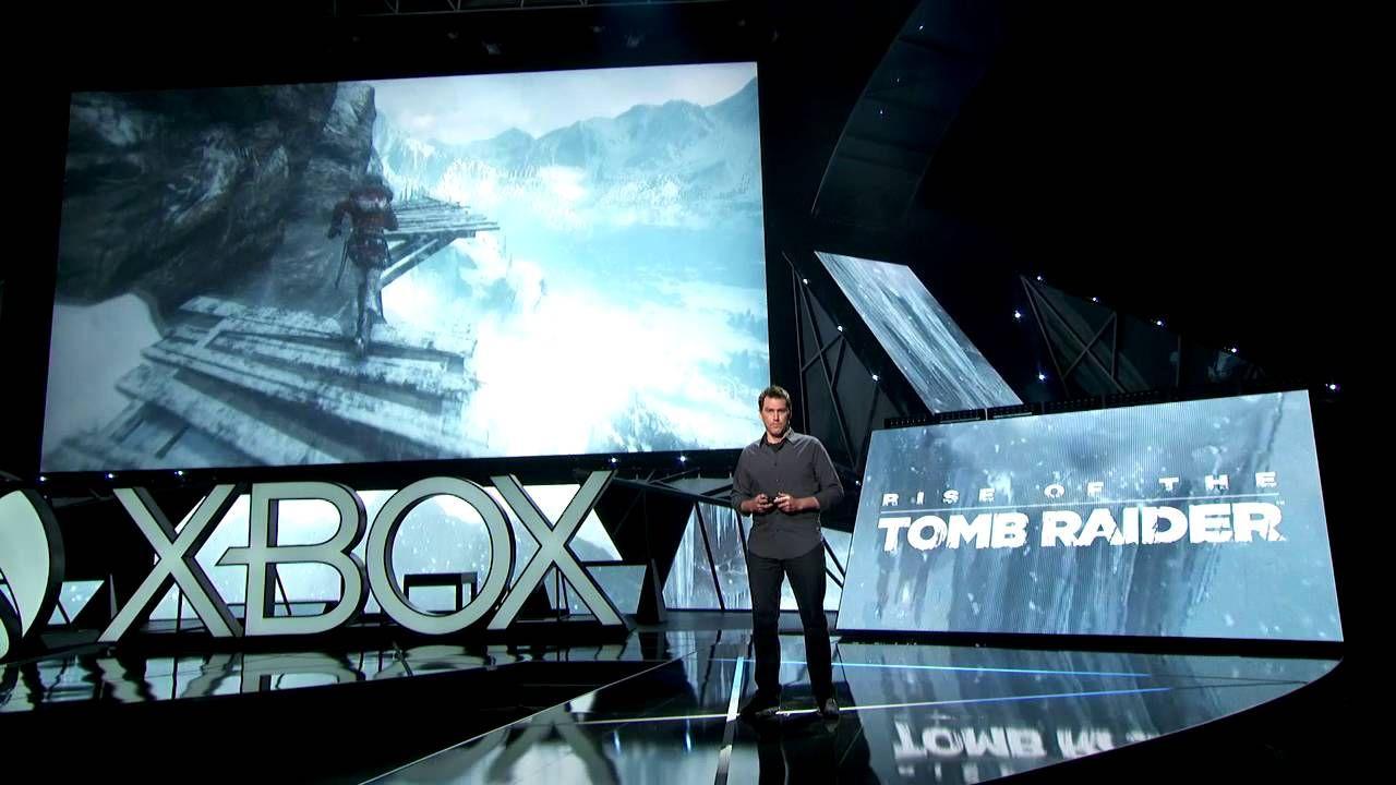 Rise of the Tomb Raiderのデモプレイ