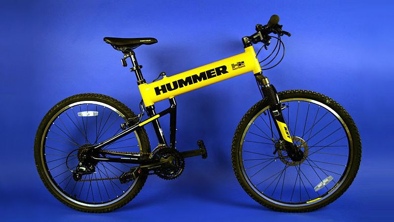 The Hummer LX Mountain Bike  In 2002, Montague partnered