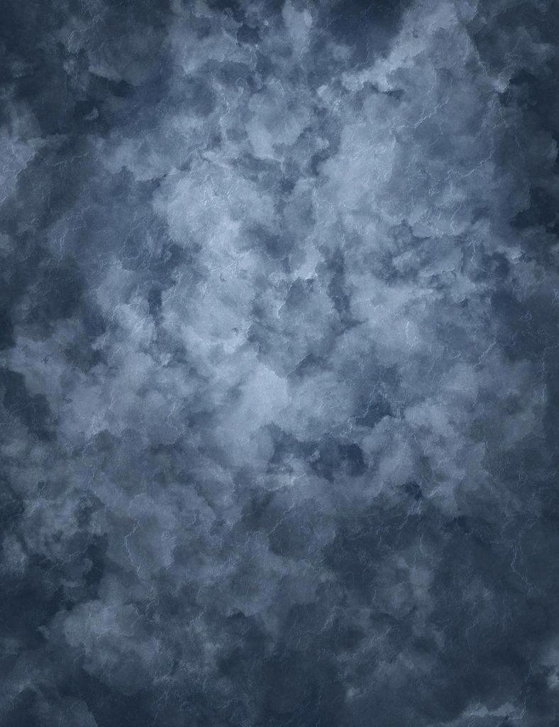 Abstract Blue Gray Backdrop For Portrait Photography J 0636