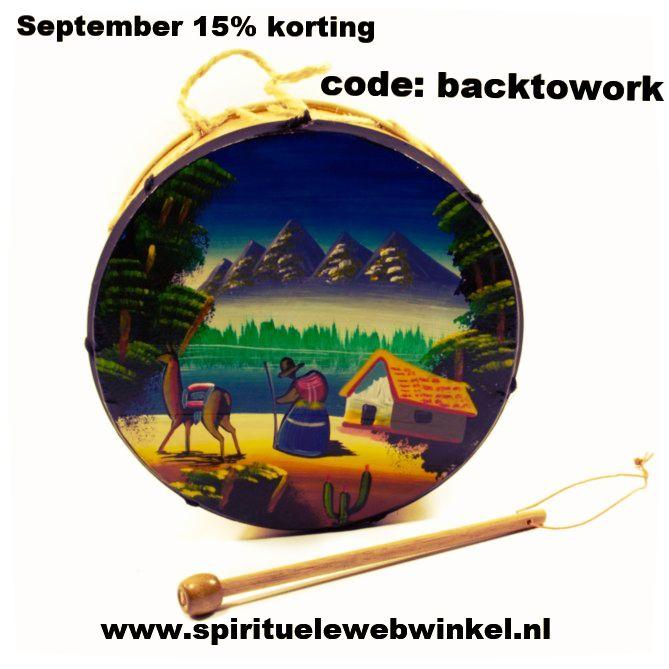 Acties in de maand september: Blijf altijd op de hoogte van de nieuwste producten, leukste acties & inspirerende berichten! Kom snel naar de Spirituele webwinkel Wist je dat het vanaf nu ook mo…