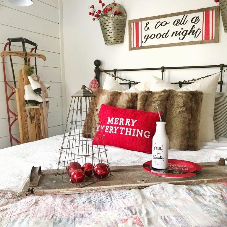 A Farmhouse Christmas with Hobby Lobby Hobby lobby