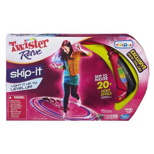 Twister Rave Skip it Hasbro