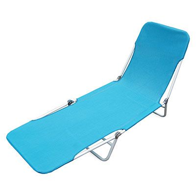 Wilson Fisher Blue Sling Folding Lounge Chair Big Lots In 2020 Folding Lounge Chair Beach Lounge Chair Lounge Chair
