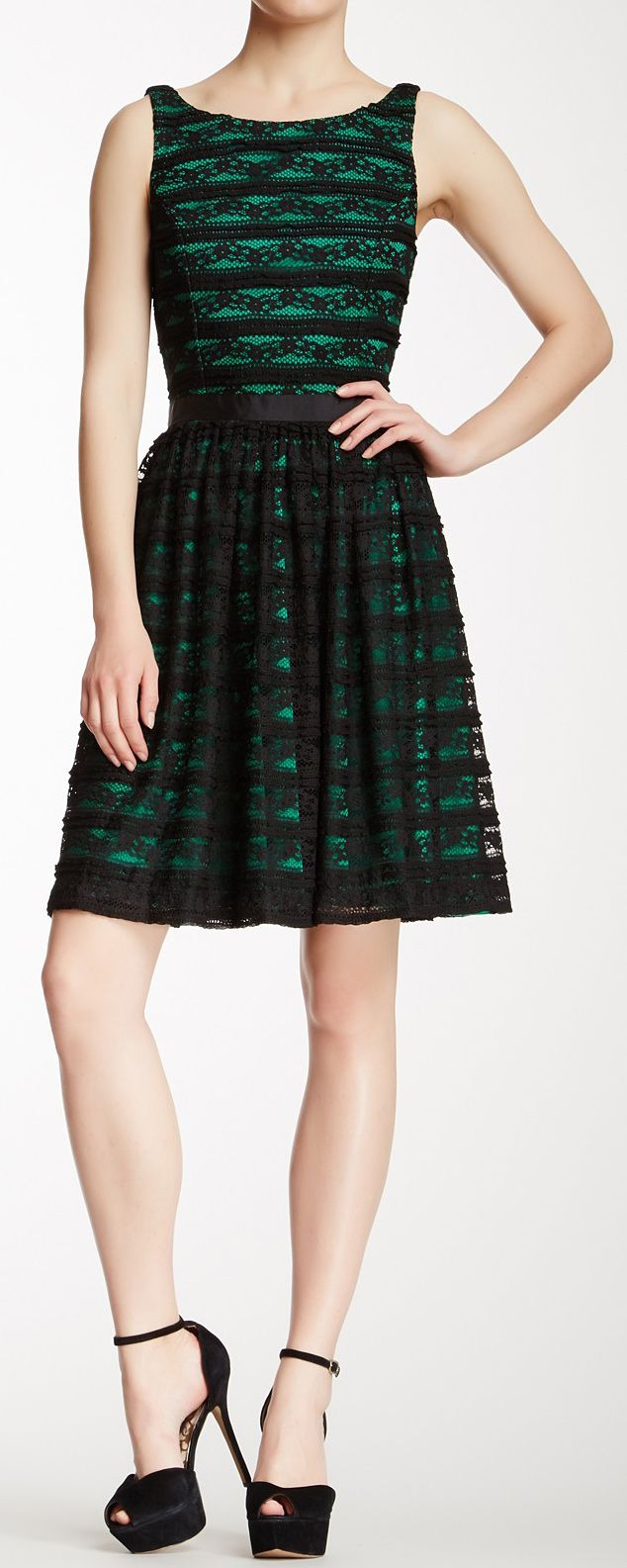 Green dress with lace overlay  Lace overlay dress  Close  Pinterest  Lace overlay dress Lace