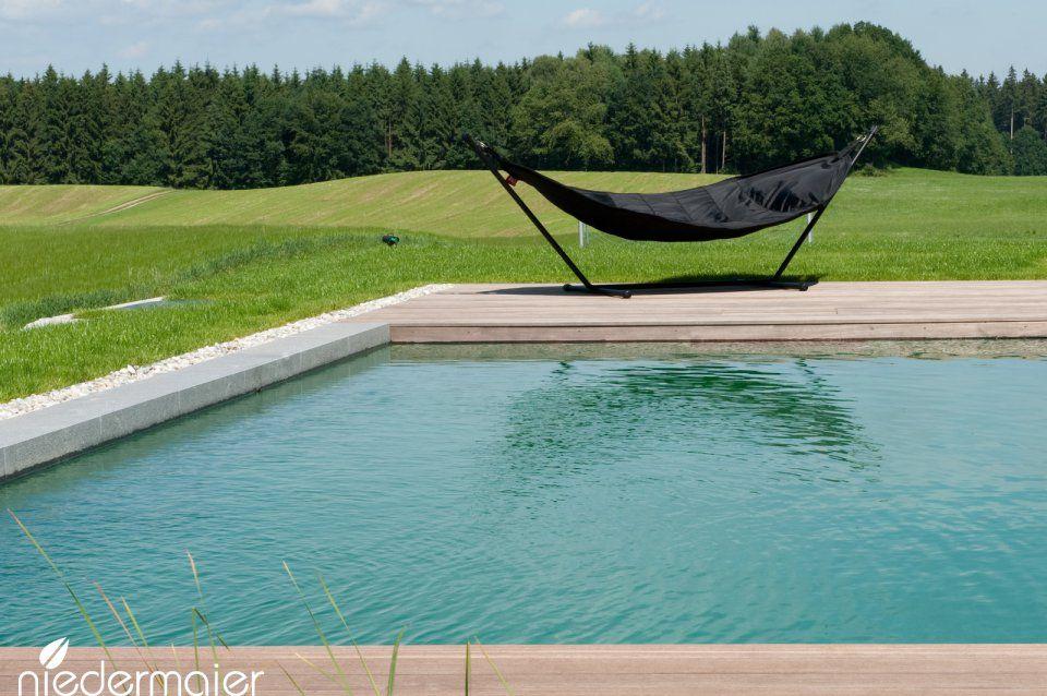Naturpool Im Bauhaus-stil - Gartendesign | Schimmteiche Im Garten ... Grundprinzipien Des Gartendesigns