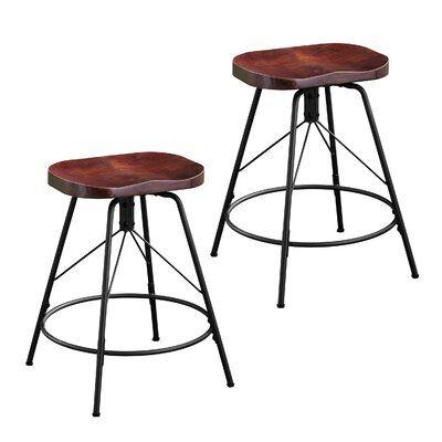 Williston Forge Parrish Bar Counter Swivel Stool Counter