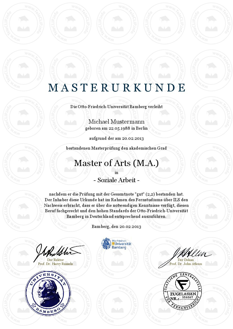Bachelor Of Arts Master Of Science