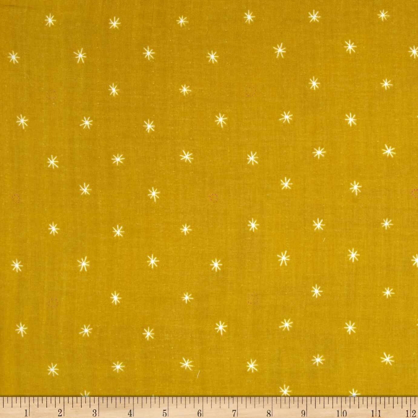 Cotton & Steel BeSpoke Cotton Double Gauze Spark Mustard Fabric