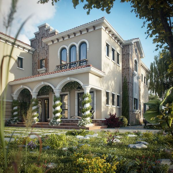 Dreamy Spaces Rendered By Muhammad Taher Tuscan Villa Dream Home Design U2013  Interior Design Ideas