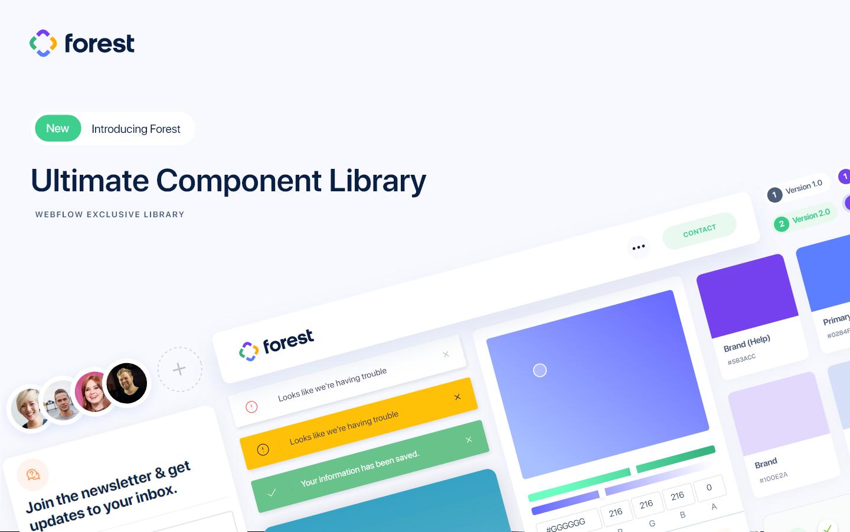 Forest Technology Html5 Responsive Website Template Website Template Responsive Website Template Web Design Tools