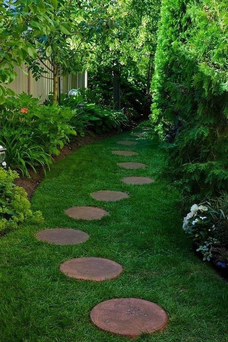 Patio Cheap Diy Garden Path Ideas