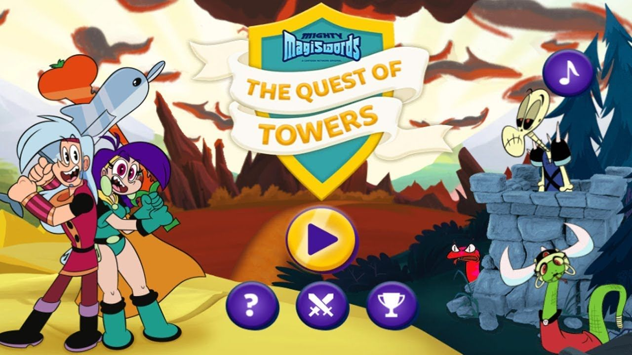 Mighty Magiswords The Quest Of Towers Protect The Warriors Hq Carto Mighty Magiswords Warrior Cartoon Network