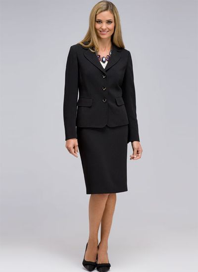 Conservative interview attire for women