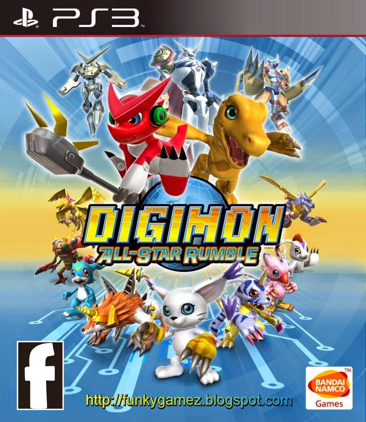 Digimon All Star Rumble | PS3 ISO | Free Download - PS3ISO ...