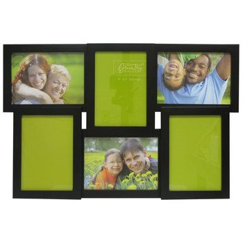5 X 7 Black 6 Opening Collage Huddle Frame For The Home
