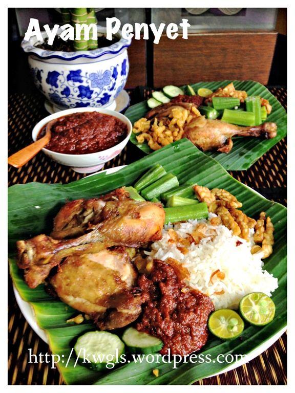 Indonesian Famous Fried Chicken – Ayam Penyet (印尼炸鸡)& Sambal