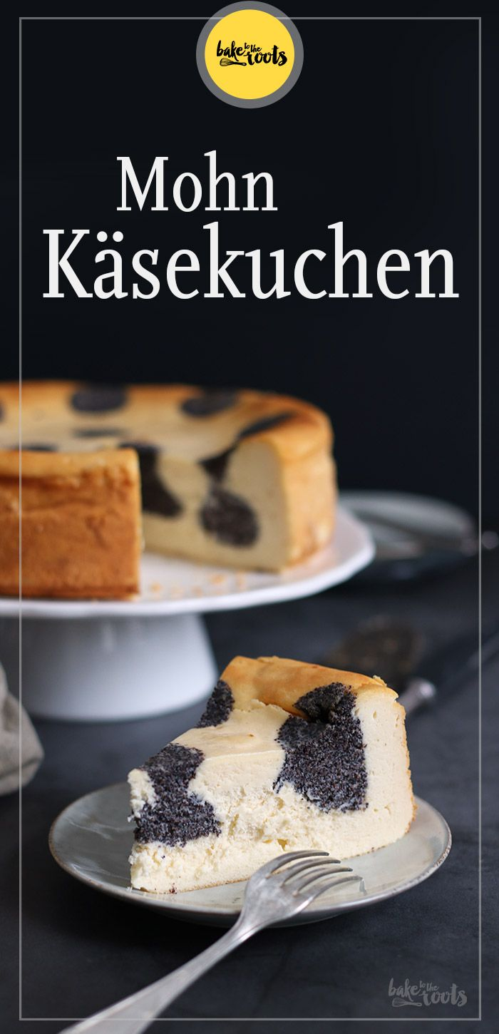 (Polka Dot) Mohn Käsekuchen | Bake to the roots