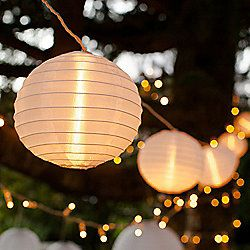 10 Chinese Lantern Connectable Led Fairy Lights Outdoor Fairy Lights Fairy Lights Garden Paper Lantern Lights