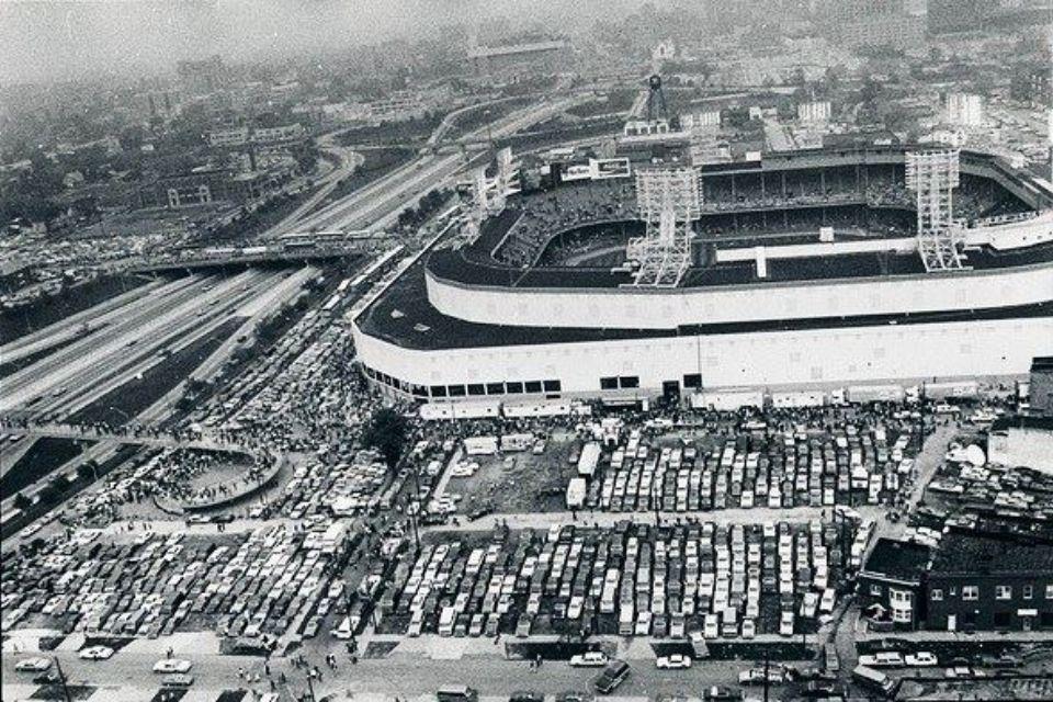 Tiger Stadium 1984 World Series. I remember everyone