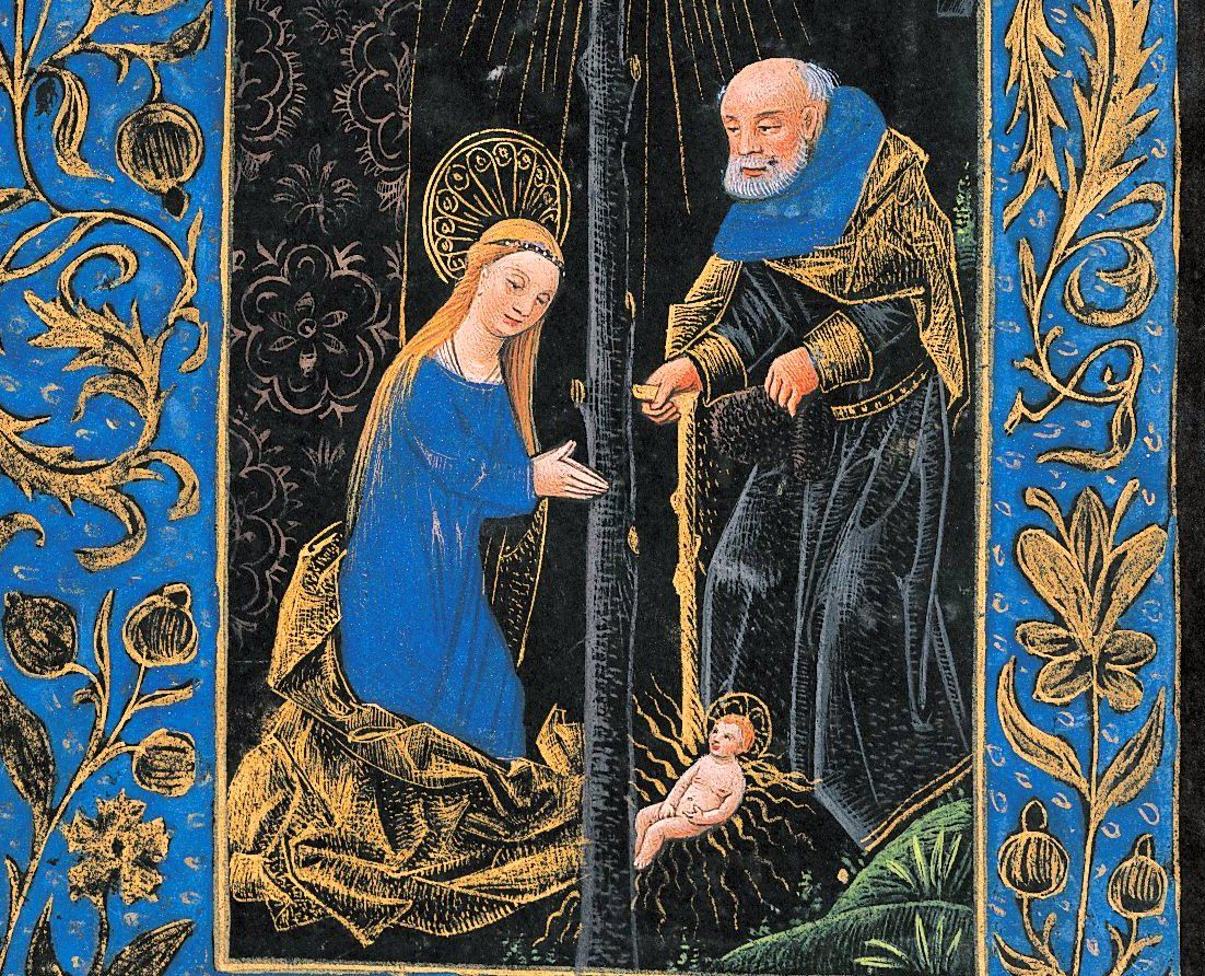 The Black Hours ca. 1470 ms M 493, f. 50v.