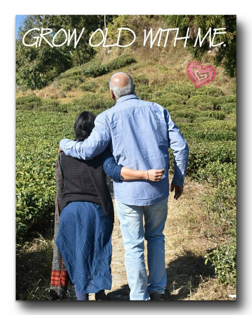 Grow old with me anniversary pinterest anniversaries