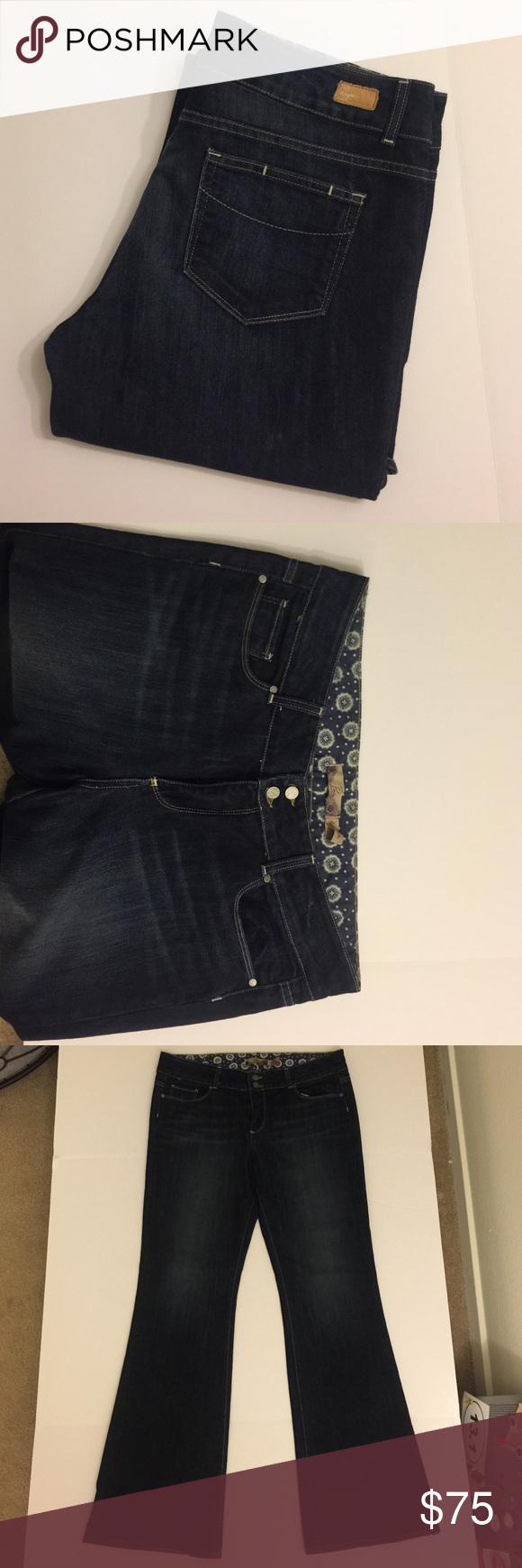 Paige Jeans - Size 33 Paige Hidden Hills Boot cut Jeans - Size 33 (inseam 33) Paige Jeans Jeans Boot Cut