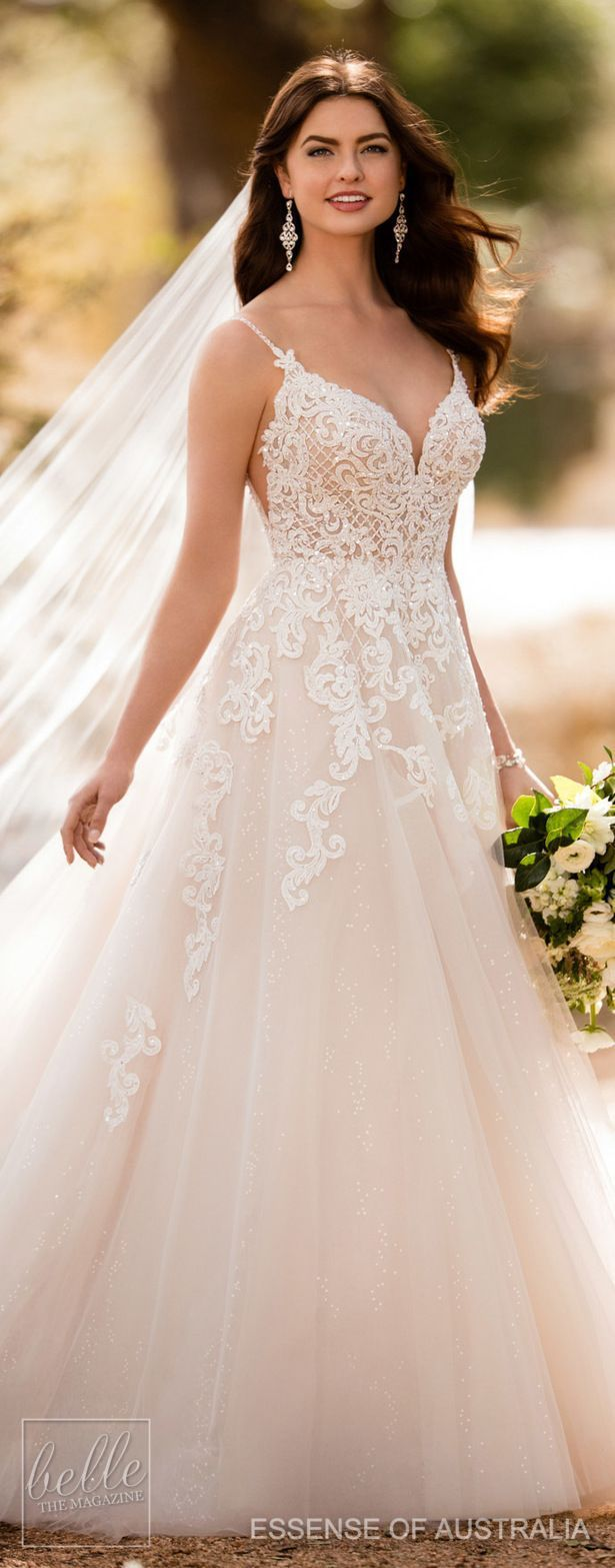 Dress for wedding party female  Essense of Australia Fall  Wedding Dress Collection in