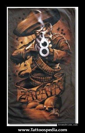 Zapata skull tattoos 287 446 tito 39 s pinterest for Emiliano zapata tattoo