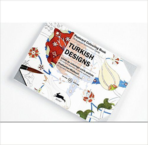 Turkish Designs: Postcard Colouring Book / Postkarten
