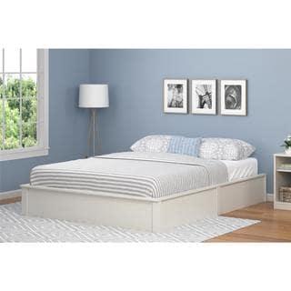 Porch Den Talmage Platform Queen Size Bed Frame Black In 2019 Products Platform Bed Frame Bed Frame Queen Platform Bed Frame