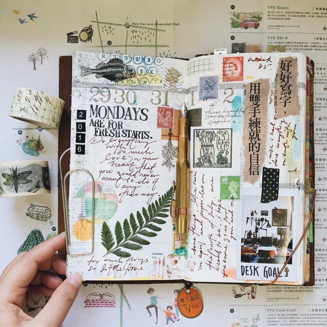 Pin By Steph Lehmann On Bujo-art-travelers Notebook