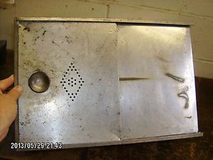Metal Bread Box Drawer Insert From Antique Vintage Hoosier Kitchen Cabinet