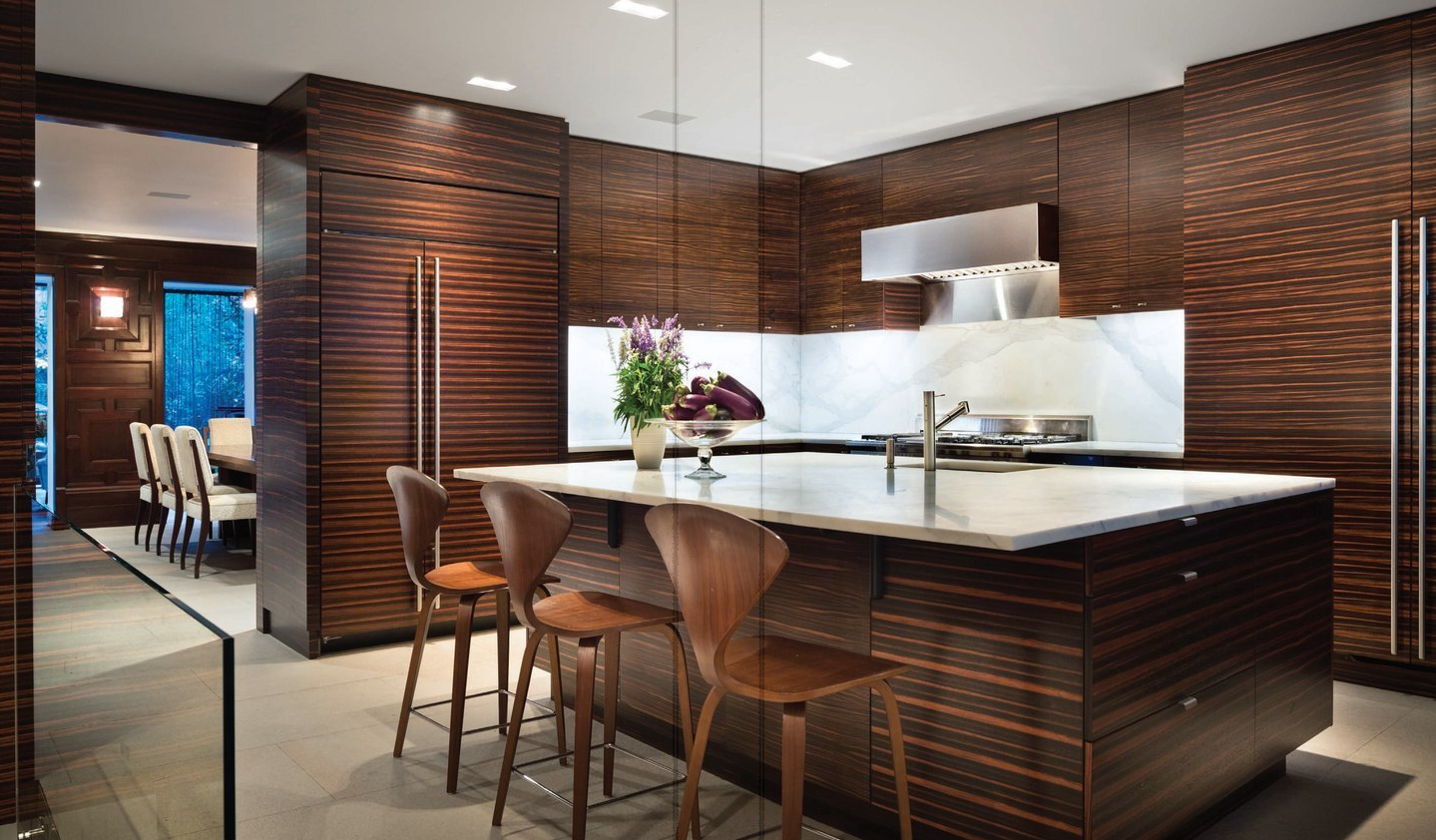 Vertical Macassar Ebony Kitchen Kitchen Design Images Kitchen Design Luxury Kitchens