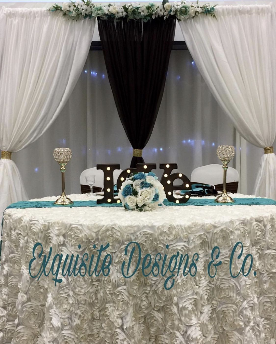 Head Table For Bride Groom Head Table Table Decorations Table