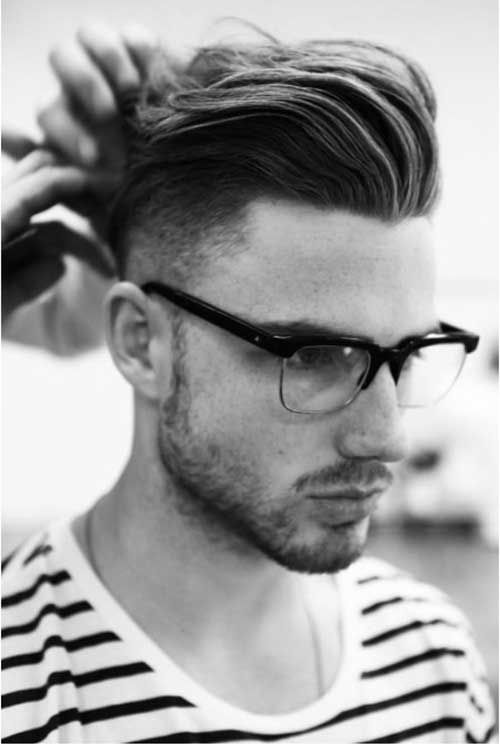 Fine Mens Pompadour Haircut Hair Pinterest Pompadour Hair Mens Hairstyle Inspiration Daily Dogsangcom