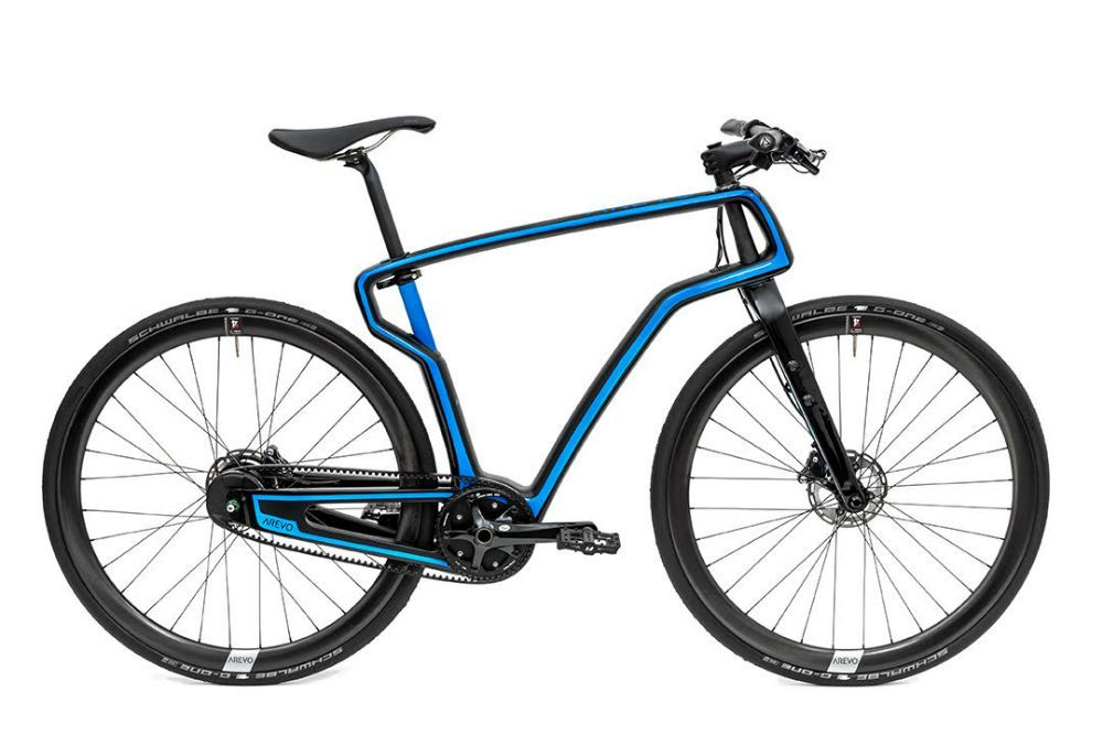 This Is the World's First 3DPrinted Carbon Bike Bicycle