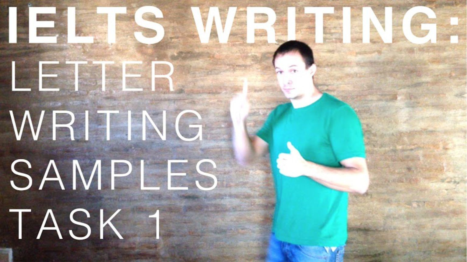 IELTS General Writing Task 1 Samples, Phrases & Tips