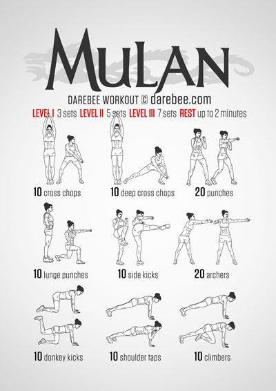 Photo of Mulan Workout – Ich liebe dieses !! Immer noch auf Level 1, aber ich werde da sein!