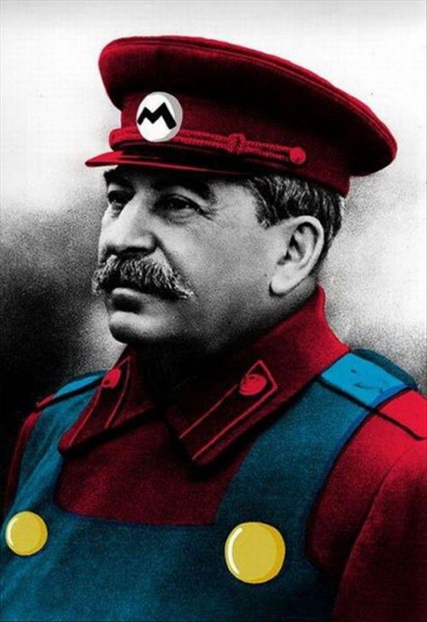 1080x1080 Gamerpic: Mario, Funny, Mario