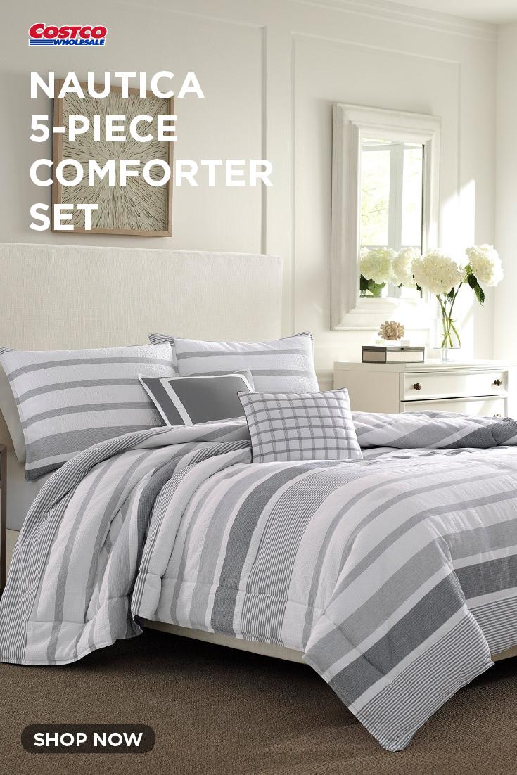 Nautica 5 Piece Comforter Set Sudbury Comforter Sets Comforters Queen Comforter Sets