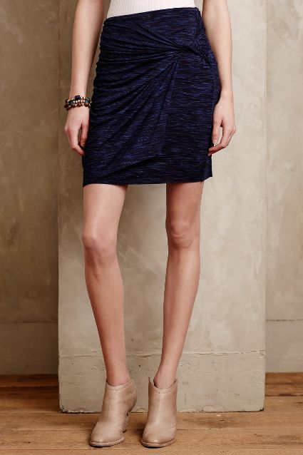Ruched Jersey Skirt - anthropologie.com #anthroregistry