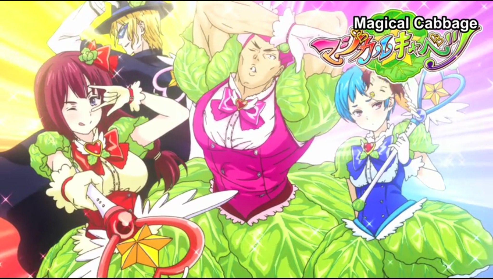 WTF... Magical Cabbage, eh? Shokugeki no Soma, Episode 11.