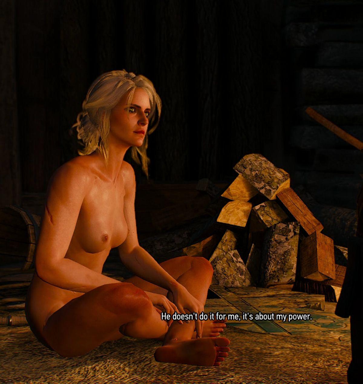 nude Young Ciri
