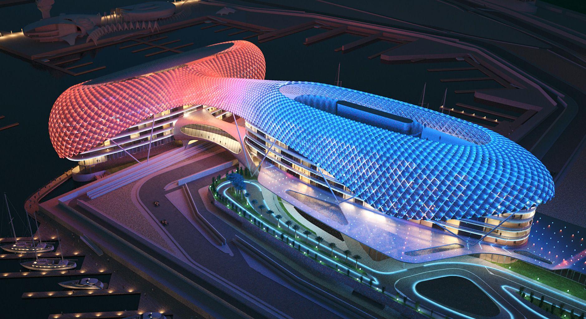 Yas Marina Hotel In Abu Dhabi Yas Hotel Abu Dhabi Abu Dhabi
